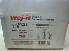 """New listing Wej-It - Concrete Anchor - 1-2"""" Diameter, 1-2"""" Drill, Cp1232"""