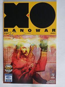 X-O Manowar #1 Sienkiewicz Signed w/COA #20 of 250 | NM | Valiant 2017 CB1