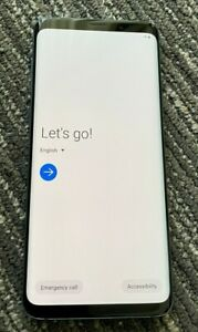 Samsung Galaxy S9+ Plus 64GB BLUE - T-Mobile Only - Sim Data Issue - Read Info