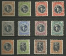 BARBADOS SG201-12 THE 1920 VICTORY SET OF 12 MOUNTED MINT CAT £150
