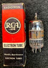 1 NOS NIB RCA GE 12AY7 Tube USA 1959