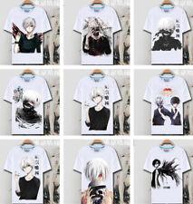 Casual T-Shirt Kostüm Tokyo Ghoul Ken Kaneki Sommer Unisex Frauen Männer Top Tee
