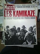 Paris Match n°854 21 août 1965 n° spécial les kamikaze 1945 staline hitler