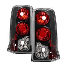 Jdragon Cadillac 2002-2006 Escalade Black Replacement Tail Brake Lights Lamp ESV