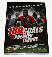 100 GOALS FROM THE PREMIER LEAGUE - DVD - NEW & SEALED BOX