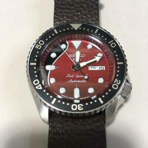 SEIKO 5 Sports Dr. Brian May Red Special Limited SBSA073 Automatic Watch F/S