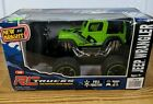 Bright Lime Green RC Jeep Wrangler, No. 2424, 1:24 Scale, 49 MHz