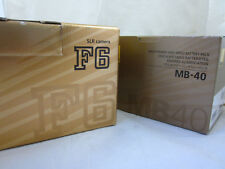 Nikon F6 Set Gehäuse/Body & MB-40 OVP MINT !