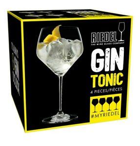 Riedel Gin O'Clock - 4 Stck Gin Tonic Gläser - Neu & Ovp