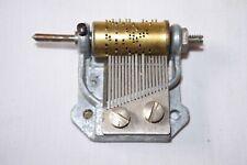 Vintage Thorens Swiss Cuckoo Clock Music Box Movement Silent Night