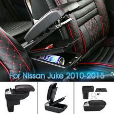 Car Armrest Center Console Central Handrails Box Storage For Nissan Juke 10 15 Fits Nissan