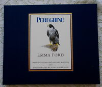 PEREGRINE BY EMMA FORD 1993 1ST EDITION FALCONRY PEREGRINE BIRD OF PREY BOOK