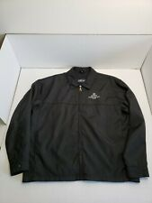 Vintage Time Out Acura Precision Team Zipper Jacket Adult Large Black