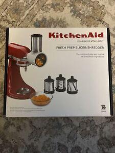 KitchenAid Fresh Prep Slicer/Shredder Stand Mixer Attachment Model KSMVSA EUC