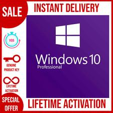 WINDOWS 10 PRO PROFESSIONAL 32 /64 BIT ACTIVATION KEY INSTANT DELIVERY