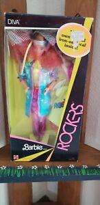 1985 Barbie and the Rockers Diva Barbie Doll Superstar era NRFB!!