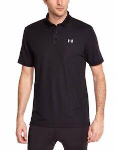 Under Armour Men's Performance Black Men's Polo Shirt Size S