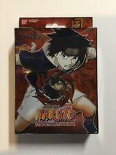 Naruto CCG Approaching Wind Burning Flame: Sasuke Theme Starter Deck New!