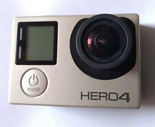 GoPro HERO 4 Action Camcorder VERSIONE SILVER TOUCH SCREEN - (danni causati dall'acqua)