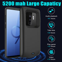 For Samsung Galaxy S9 S9+ S20/+ Battery Case External Power Bank Charging Cover