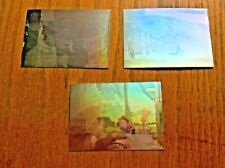 Upper Deck trade trading cards Disney Beauty and the Beast holo hologram x3