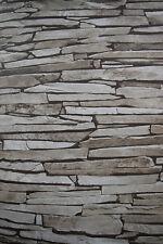 Stone Effect Wallpaper Thin Stone Slate rrp£15