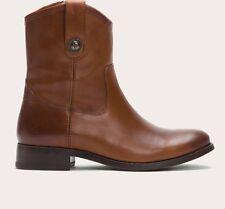 FRYE Melissa Button Short Cognac Boots Bottine US 8 / UK 6 / EU 39 (rrp:349€)