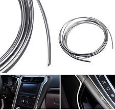 5M Car Auto Universal Chrome Shiny Strip Line Interior Accessories Decor Silver