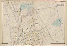 1904 NEW JERSEY ESSEX COUNTY UPPER MONTCLAIR COUNTRY CLUB E. ROBINSON ATLAS MAP