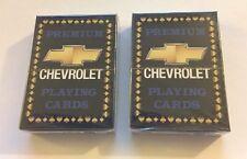 Set of 2 Decks Brand New GM CHEVROLET Premium Playing Cards