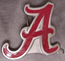 NCAA Pewter Belt Buckle Alabama Crimson Tide NEW