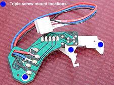 Technics SL-1300MK2 / SL-1400MK2 turntable muting switch, triple screw mount