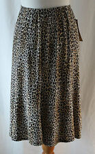 Notations, Small, Animal Print Skirt, New with Tags