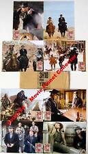 3:10 TO YUMA - R.Crowe - C.Bale - Set of 8 FRENCH LC