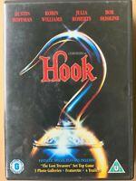Gancio DVD 1991 Peter Pan Famiglia Film Classico Robin Williams Dustin Hoffman,