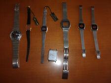 Cinturini e casse orologi vintage residuo di magazzino Casio Timex Orient