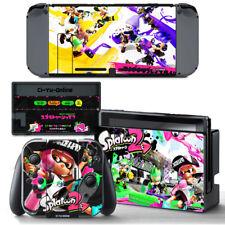 Ci-Yu-Online [NS] Splatoon 2 VINYL SKIN STICKER DECAL COVER for Nintendo Switch