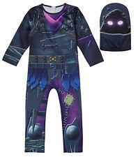 Simile Fortnite Costume Carnevale Vestito Maschera Cosplay Zentai FNITE12