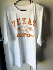 Texas Longhorns Mens White 2XL T-Shirt NWT