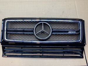 2018 Mercedes Benz G Wagon OEM AMG Front Grill A4638880323 G500 G55 Black G63