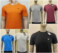 Armani Jeans Men's Crew Neck Short Sleeve  T-Shirts for Men