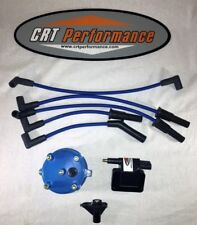 JEEP YJ XJ 2.5L 4CYL IGNITION TUNE UP UPGRADE KIT BLUE Wrangler Cherokee 94-97