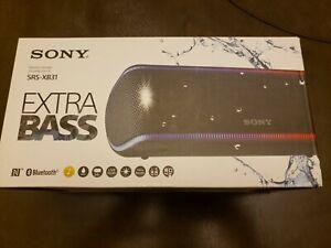 Sony SRS-XB31 Portable Bluetooth Speaker Black