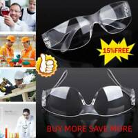 10PCS SafetyGlass Eye Protection AntiFog Clear Protective For Lab Wor NewOutdoor