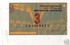 CALCIO BIGLIETTO  TICKET  INTER MONZA COPPA ITALIA 31-5-1978 DOTAZIONE SPECIALE