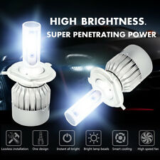 1060W 159000LM H4 HB2 9003 6000K White CREE LED Headlight Hi/Lo Power Bulbs Kit