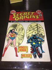 Secret Origins #3 Origin Of Wonder Woman And Wildcat 1St 00004000  Print 1973 Hot Hot