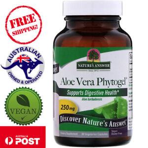 Nature's Answer, Aloe Vera Phytogel 250 mg, 90 Vegan Capsules - Aloe Barbadensis