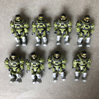 Mega Bloks Construx Halo UNSC Marine 8 action figures lot toy *New Unused* Block