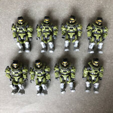 Mega Bloks Construx Halo UNSC Marine 8 action figures lot toy *New Unused* Block